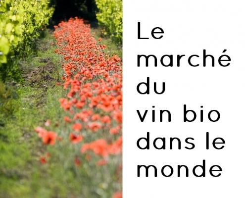 Le marché du vin biologique dans le monde