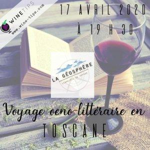 Evénement littérature et vin